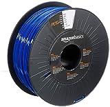 AmazonBasics 3D-Drucker-Filament aus PETG-Kunststoff, 1,75 mm, Blau, 1-kg-Spule