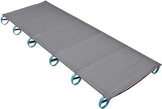 Folding Bed Portable Climbing king Rest Outdoor Camping Mat Travel Single Sleeping Ultra Light Aluminium Frame Cot Sturdy