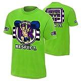 John Cena'Cenation Respect' Youth T-Shirt Lime Green Small