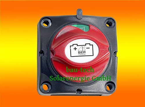 bau-tech Solarenergie Batterie Trennschalter für Inselanlage, Solaranlage, PV Anlage, Solar PV Montage GmbH