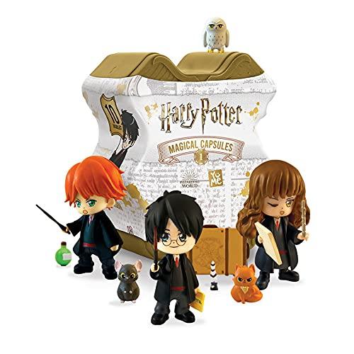 Harry Potter - Capsule Magiche Serie 1, confezione sorpresa con mini personaggio collezionabile dai film di Harry Potter, per bambini dai 4 anni, Giochi Preziosi, Multicolore, HRR02000