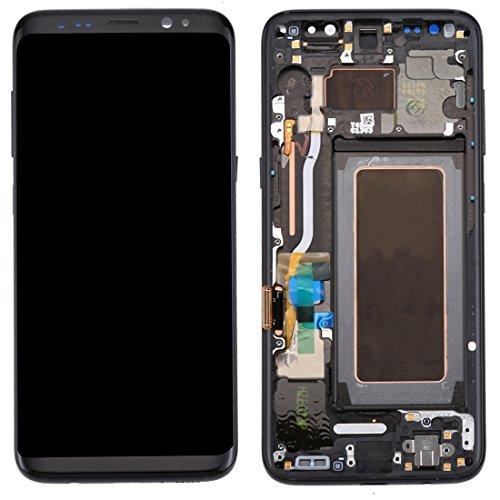 Reparatie Onderdelen IPartsBuy Compatibel Met Samsung Galaxy S8 / G950 LCD-scherm + Touch Screen Met Frame Telefoon Accessoire (Kleur : Zwart)