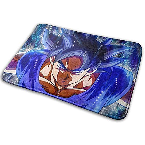 Liumt welkom deurmat boze Goku Dragonball binnen outdoor ingang tapijt vloer matten schoen schraper 40cm x 60cm