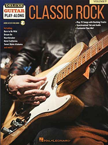 Classic Rock: Deluxe Guitar Play-Along Volume 7