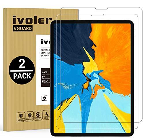 ivoler 2 Unidades Protector de Pantalla para Nuevo iPad Pro 12.9 Pulgadas...