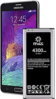 Galaxy Note 4 Battery 4300mAh Li-Polymer Battery for The Samsung Galaxy Note 4 [N910 N910U LTE AT&T N910A Verizon N910V Sprint N910P T-Mobile N910T] Note4 Spare Battery [24 Month Warranty]