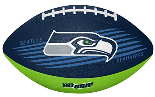 NFL Seattle Seahawks 07731085111NFL Downfield Fußball (alle Team-Optionen), grün, Jugendliche