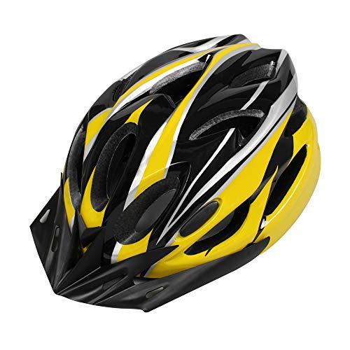 EDWARD & CO. Casco de bicicleta para adultos, casco de bicicleta deportiva de carretera y montaña, casco ligero con visera extraíble y forro ajustable Thrasher.