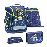 Belmil Science Tech 404-5 - Set de mochila y accesorios escolares