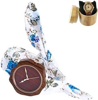 eb46c31dc9d8 Amazon.es: flores de tela: Relojes