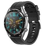Supore Armband Kompatibel mit Huawei Watch GT2 46mm/Watch GT 46mm/Watch GT Active/Watch 2 Pro/Honor Watch Magic/Galaxy Watch 46mm/Gear S3/Gear 2, 22mm Silikon Ersatzarmband