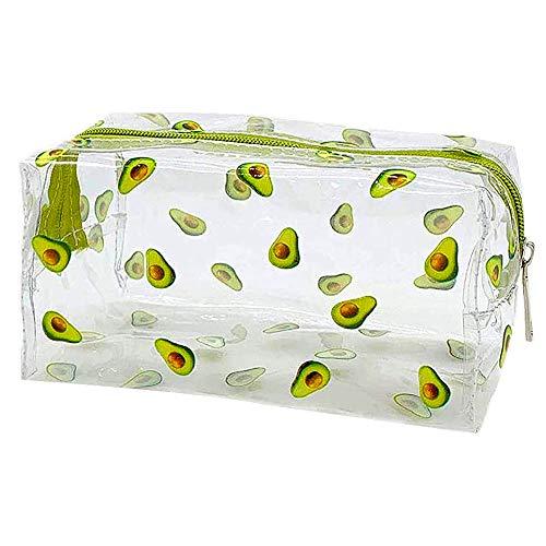 Transparent Kosmetiktasche, FANDE Cartoon Make-up Tasche, Reise Kosmetiktäschchen, Multifunktions-Kosmetiktaschen Nette wasserdicht transparente Aufbewahrungstasche
