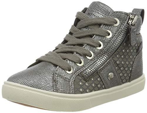 Lico Loren Hohe Sneaker Mädchen, Grau/ Silber, 29 EU