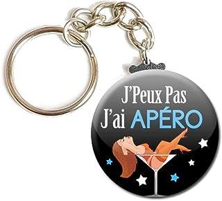 Porte Clés Chaînette 3,8 centimètres j' peux pas j' ai Apéro Idée Cadeau Accessoire Humour Homme Femme Excuse