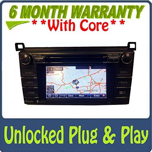 Buy Discount 2014 2015 Toyota Rav4 GPS Navigation HD Radio Gracenote Bluetooth AM FM SD 100319, 1004...