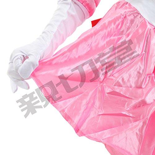 『超なりきり! 美少女戦士大集結!! セーラームーン コスプレ衣装 豪華7点セット (XLサイズ, ちびうさ(桃))』の5枚目の画像