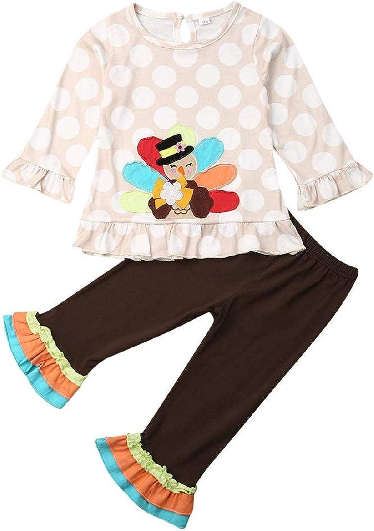 Thanksgiving Outfits Toddler Super intense SALE San Francisco Mall Kids Baby Girls Ruffle Tunic Dress