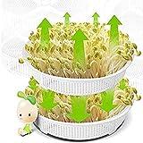 WSXMLA 3 Capas brotes de Frijol de la máquina, la función de Hogares Grande Aumentar la Capacidad de Las Semillas de Cereales de Herramientas, Semillas sanas germinador Bandeja brotes de Haba Maker