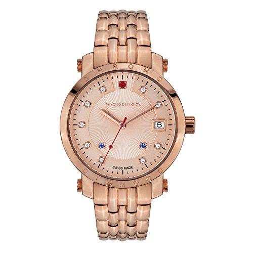 Chrono Diamond Uhr mit Schweizer Quarzuhrwerk Woman 10610H Nesta
