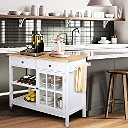 Coffee Station kitchen cart