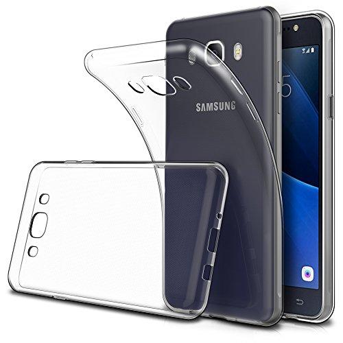 Simpeak 2-Stück Hülle Kompatibel für Samsung Galaxy J5 2016 [2 Pcs], Schutzhülle Kompatibel mit Samsung Galaxy J5 2016 Silikon Transparent [ Nicht Fits J5 2015 ]