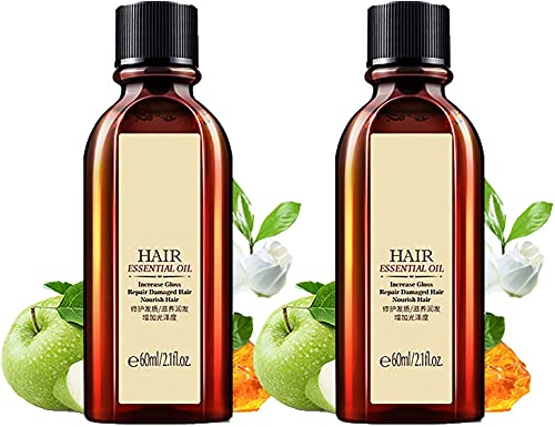 Moroccan Essential Oil Hair Care Essence, Multi-Functional Hair Essential Oil, Moroccan Pure Argan Oil Essential, Most Suitable for Repairing Split Ends, Frizzy, and Knotted Hair