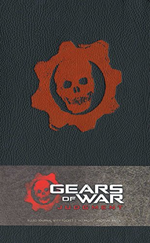 GEARS OF WAR JUDGMENT HARDCOVER RULED JOURNAL (LARGE) (Gaming)