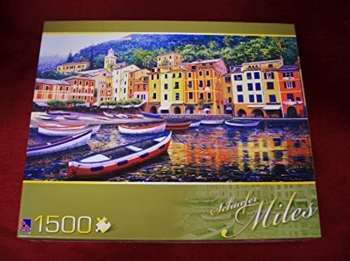 Sure-Lox 1500-piece Jigsaw Puzzle by Schaefer Miles Collection - PORTOFINO LIGHT