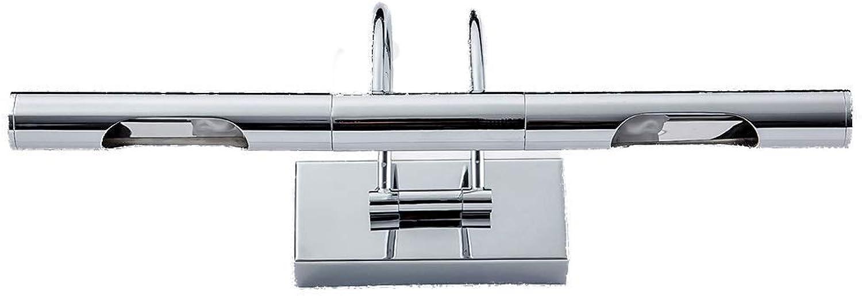 Spiegelfrontleuchte Spiegelscheinwerfer Modern Minimalistische LED Innenbeleuchtung Drehbare Spiegelscheinwerfer Lampe Badezimmer Badezimmerspiegel Scheinwerfer [Energieklasse A +] (Farbe  Warmwei)