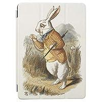 RECASO不思議 国 ヴィンテージ 芸術 アリスから 白いウサギ ipad pro 11インチ ケース ipad pro 11 ケース おしゃれ ipad pro 11インチ カバー 11インチipad pro