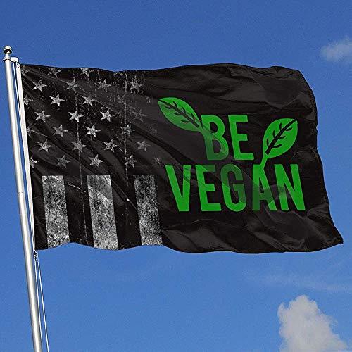 Elaine-Shop Banderas al Aire Libre Bandera de EE. UU. Desgastada BE Vegan 1 4 * 6 Ft Bandera para decoración del hogar Fanático de los Deportes Fútbol Baloncesto Béisbol Hockey