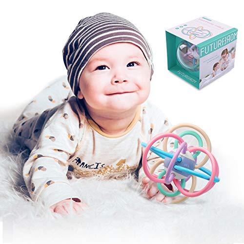 TEMI Baby Rattle and Sensory Tee...
