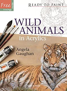 Wild Animals in Acrylics (Ready to Paint)