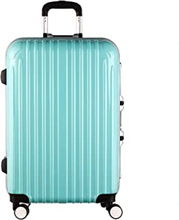 Luggage Sets Trolley Case Luggage Aluminum Frame Female Password Box Trolley Case Universal Wheel Suitcase Male Boarding Box - Five Colors Optional Luggage & Travel Gear