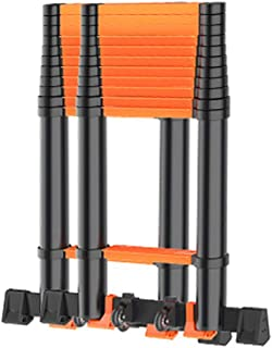 Extension ladder Multi-Purpose Aluminium adjustable Ladder Extension Extend - Portable Foldable For Home premium extension...