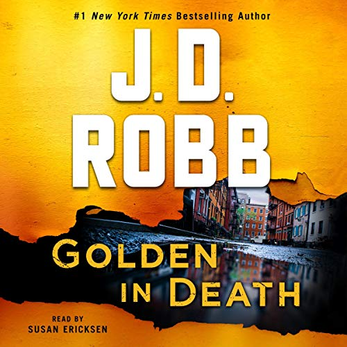 Golden in Death audiobook cover art