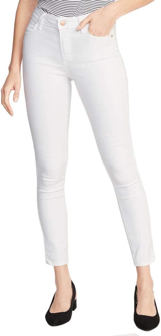 Old Navy Jeans Para Dama Pantalon De Mezclilla Tipo Vaquero Super Skinny Modelo 391408 Talla 2 Reg Blanco Amazon Com Mx Ropa Zapatos Y Accesorios
