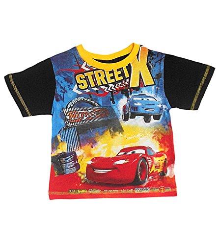Disney, maglietta a maniche corte da ragazzo nero Black - XSTREET Noir1