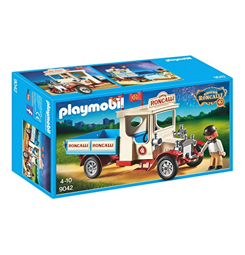 Playmobil in box 9042 Circus Roncalli Macchina Old-timer Exclusive