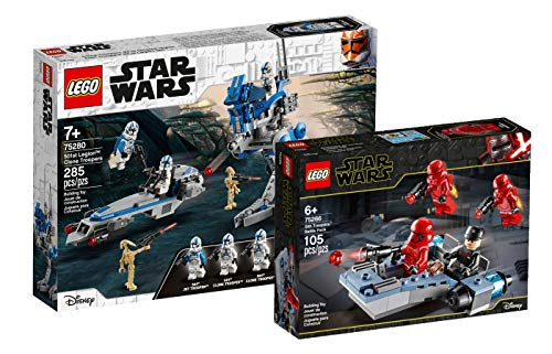 Collectix Lego Star Wars 75280 Clone Troopers 501 Legion + 75266 Sith Troopers™ Battle Pack