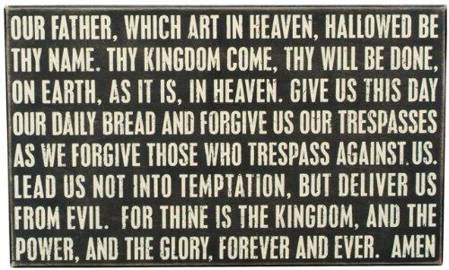 des éléments de signer – Le Seigneur de prière