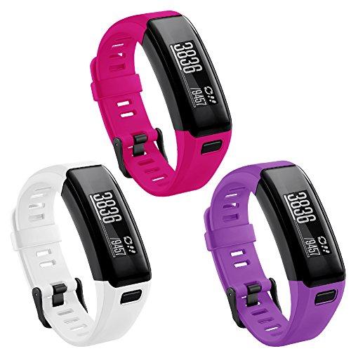 Kmasic Compatible Garmin Vivosmart HR Strap, Sport Wristband Strap Accessories for Garmin Vivosmart HR (No Tracker, Not Compatible Vivosmart HR+)