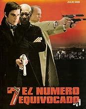 Lucky Number Slevin Movie Poster (27 x 40 Inches - 69cm x 102cm) (2006) Argentine -(Josh Hartnett)(Bruce Willis)(Stanley Tucci)(Morgan Freeman)(Ben Kingsley)(Lucy Liu)