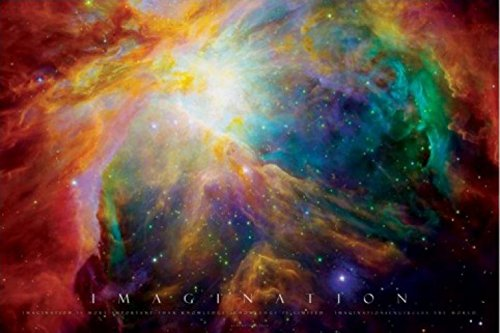 1art1 Motivation - Imagination, Galaxie Nebel Poster 91 x 61 cm