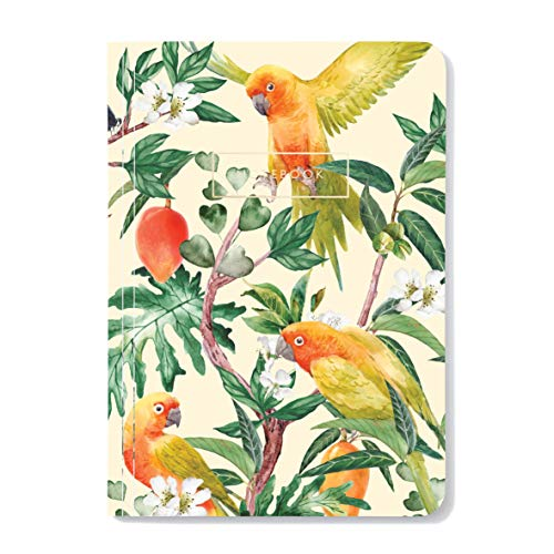 Go Go Mango A5 Notebook paper, soft cover with gold foil, lined pages, Creative Lab Amsterdam