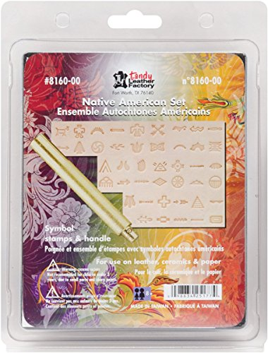 Tandy Leather Native American Symbol Stamp Set 8160-00
