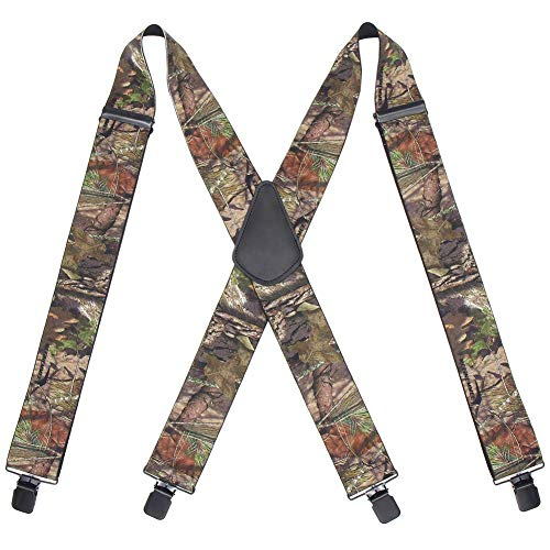 Suspenders for Men Heavy Duty Big and Tall Mens Camo Tactical...