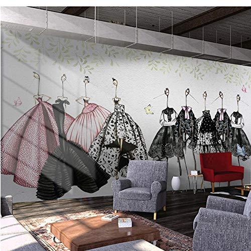 Wuyii aangepaste 3D fotobehang Europese stad Street View grote muurschildering druk sticker wooncultuur vlies behang muurschildering 280 x 200 cm.