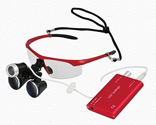Dental Surgical Binocular Loupes Optical 3.5X420mm Loupe Cheap sale w Glass sale