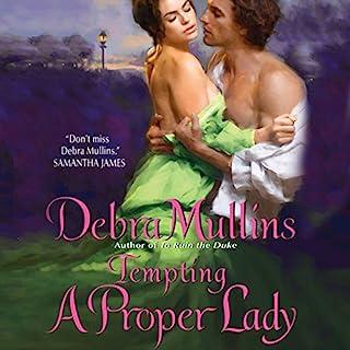 Tempting a Proper Lady audiobook cover art